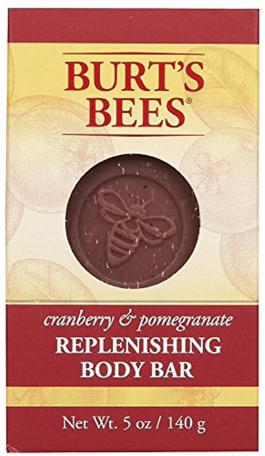 スパークバケツ判定バーツビーズ Burt's Bees BURT'S BEES クランベリー&ポメグラネイト ボディバー 140g