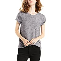 Levi's Women's The Perfect Crew, Francisco Sky HTR