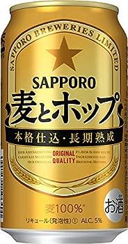 【新ジャンル】サッポロ 麥とホップ [ 350ml×24本 ]
