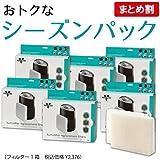 【Amazon.co.jp限定】VORNADO ボルネード 【お得なパック◆まとめて6箱】 気化式加湿器 フィルター WICK1.5x6箱