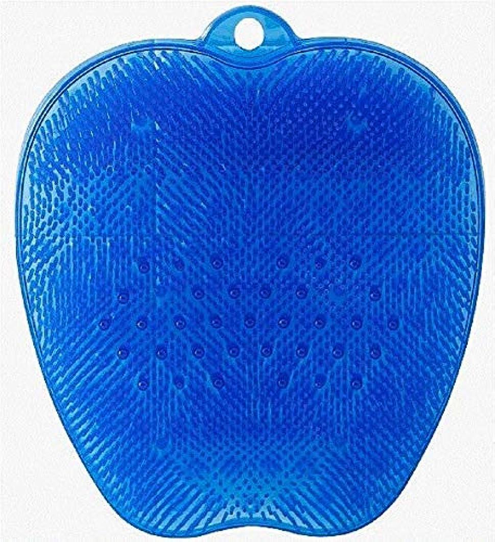 振動するビル変位HIROフットブラシ 爽快フットケア ブルー