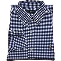 (ポロ ラルフローレン) ボタンダウンシャツ長袖 ギンガムチェック ブルー Polo Ralph Lauren 581 [並行輸入品]