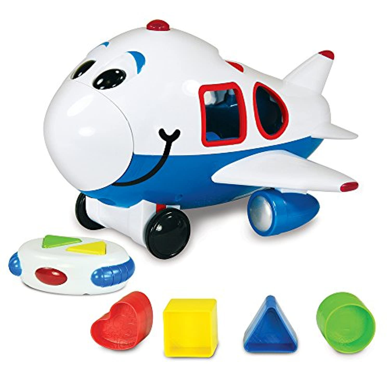 The Learning JourneyリモートコントロールShape Sorter、Jumbo The Jet Plane
