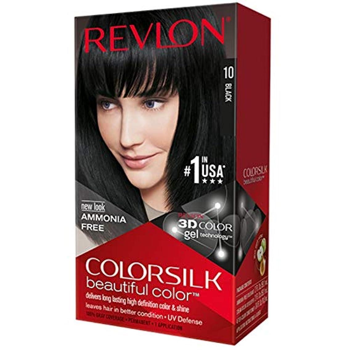 苦行散文見つけるRevlon 改訂Colorsilk 1Nサイズ1CT Colorsilk 1N