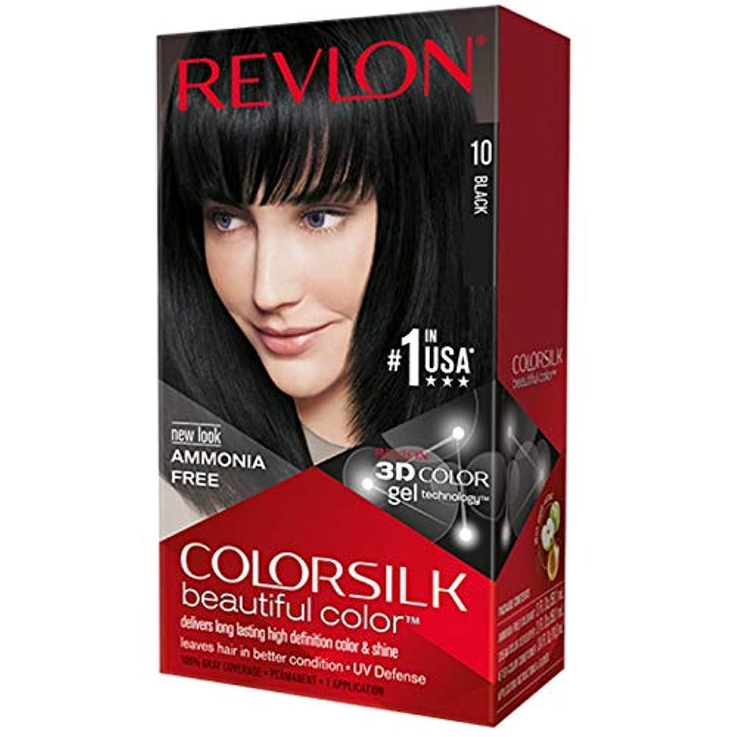 インサートプロポーショナル追うRevlon 改訂Colorsilk 1Nサイズ1CT Colorsilk 1N