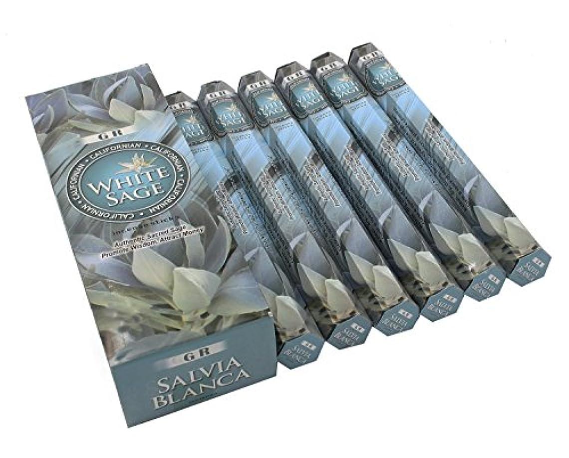 編集する推定するキリスト教Californianホワイトセージお香6ボックス120 Sticks