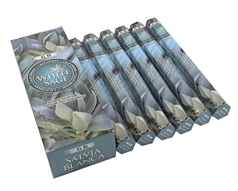 理想的には流体アルプスCalifornianホワイトセージお香6ボックス120 Sticks