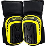 Premium Knee Pads For Hard Workers (Thigh Support Anti-Slip Band) Comfortable Cushioned Kneeling Gear that Stays in place, He