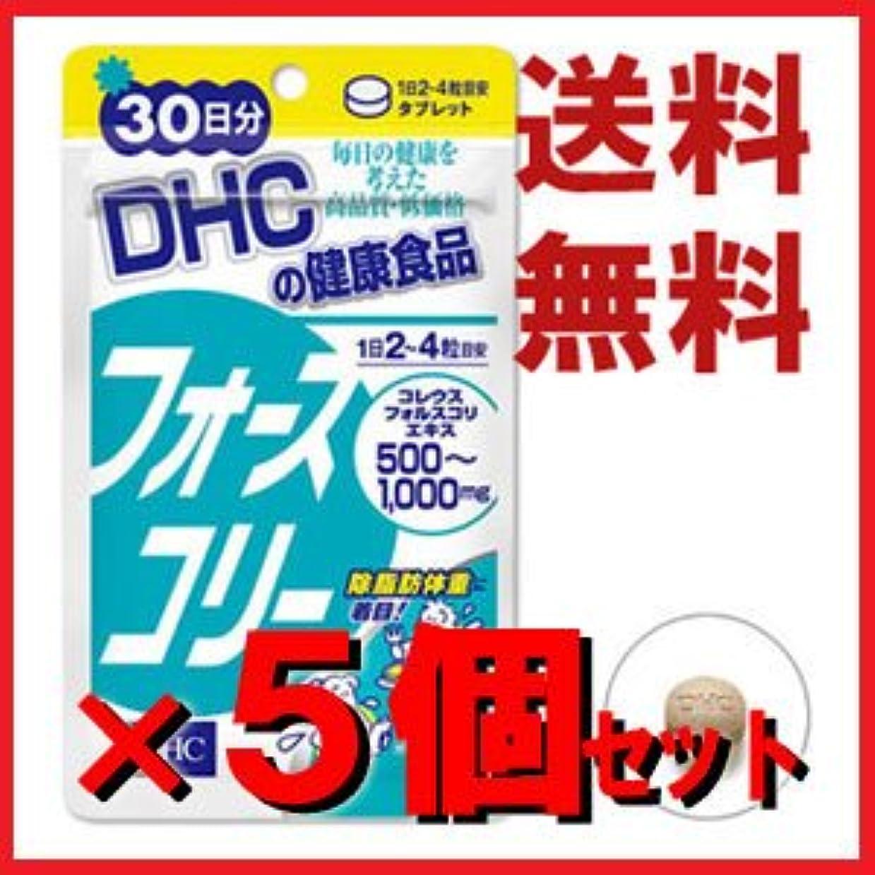 ボタン記念品シリンダーDHC フォースコリー 30日分 120粒 ×5個セット