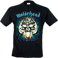 Motorhead モーターヘッド Overkill warpig オーバーキル・ウォーピグ 公式 メンズ チャコール Tシャツ 全サイズ
