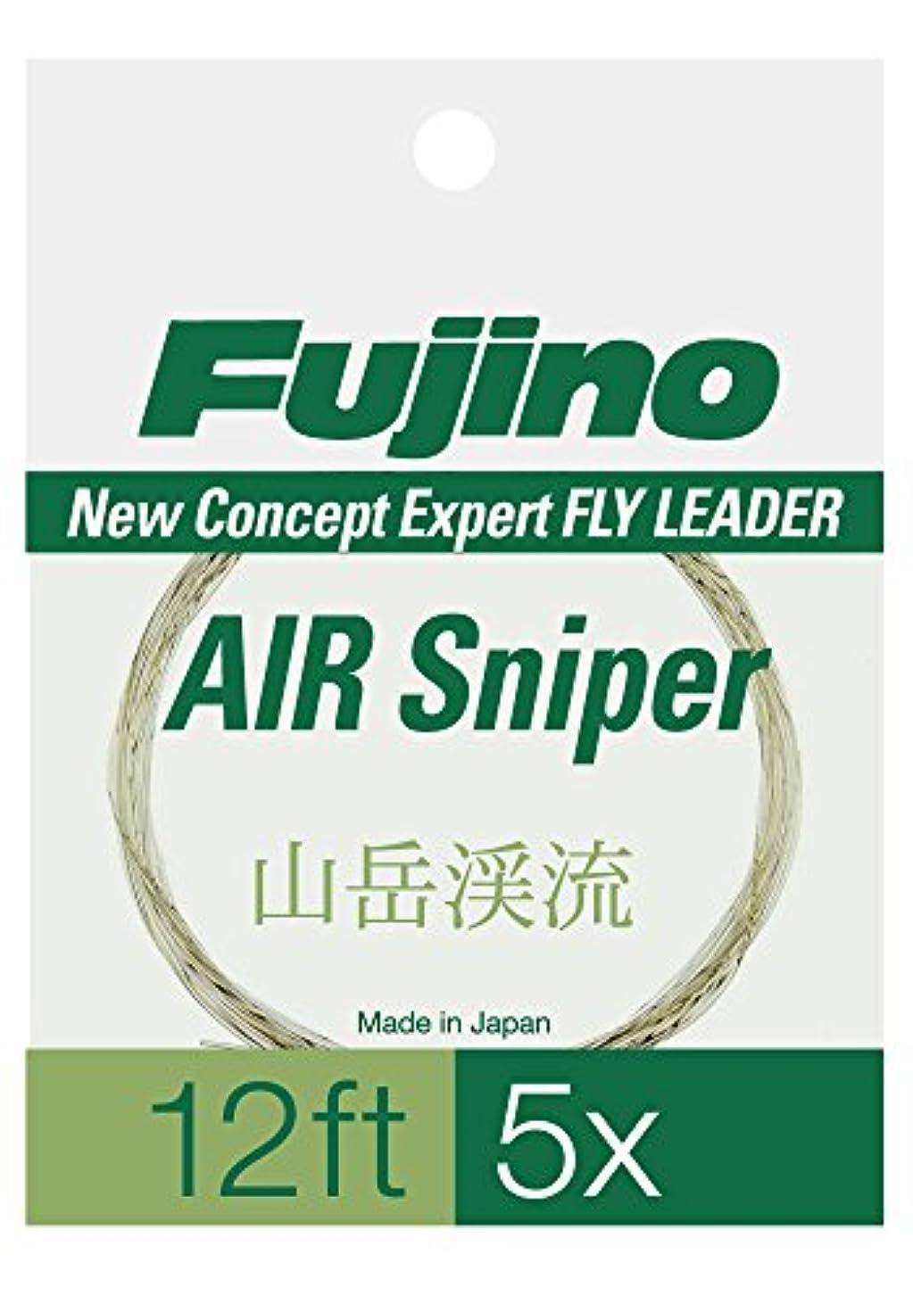 流用するゲージ寛容なFujino(フジノ) エアースナイパー山岳渓流 12ft 2個入り4X