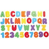 TOYANDONA 1 Set Bath Numbers Floating Educational Foam Alphabet Numbers Baby Bath Toy Swimming Pool Toys for Preschool Early