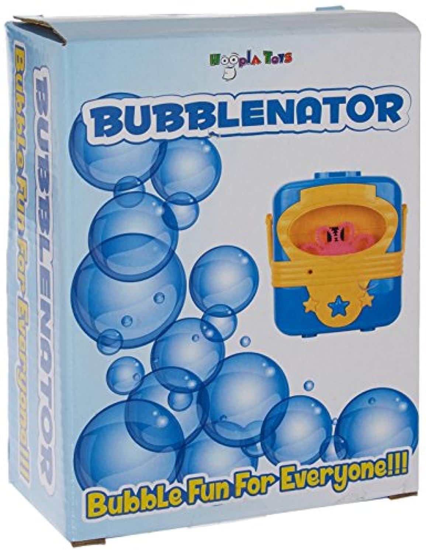 Hoopla Toys ht-10003 bubblenator Bubble Blower Battery PoweredマシンKids Toy