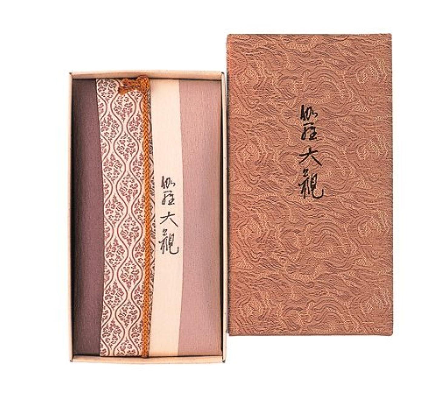 アナログ平日珍味香木の香りのお香 伽羅大観 コーン24個入