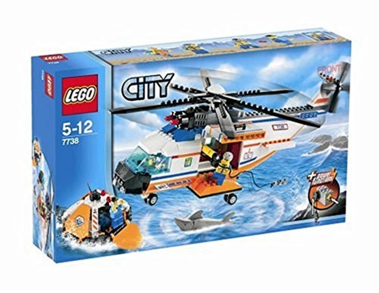 レゴ (LEGO) シティ ヘリコプターと救命ボート  7738