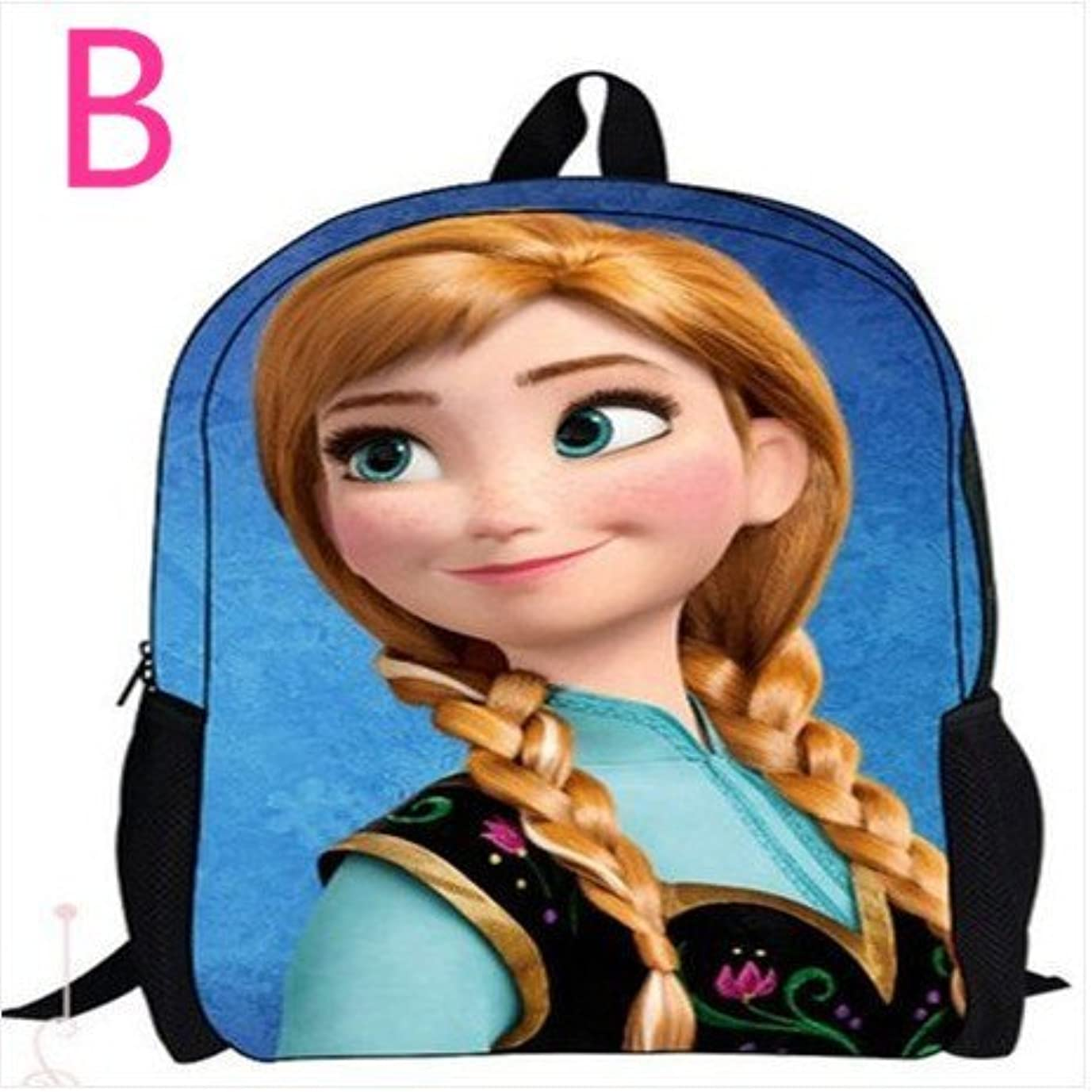 木製均等に曖昧なアナと雪の女王 Frozen ディズニー キッズ 子供 鞄 リュックサック ファッション リュック 男女兼用バッグbby1
