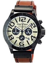 [エンジェルクローバー]Angel Clover 腕時計 Black Master Military ベージュ文字盤 ステンレス(BKPVD) ケース クロノグラフ BM46BSB-LB メンズ