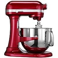 Kitchenaid (CERTIFIED REFURBISHED) Rkp26m1xCA Professional 600 Stand Mixer 6 quart 10-SPD Candy Apple Red by KitchenAid