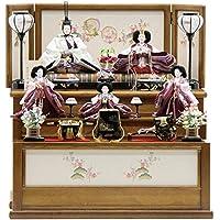 雛人形 五人三段飾り[幅70cm][it-1027] 雛祭り