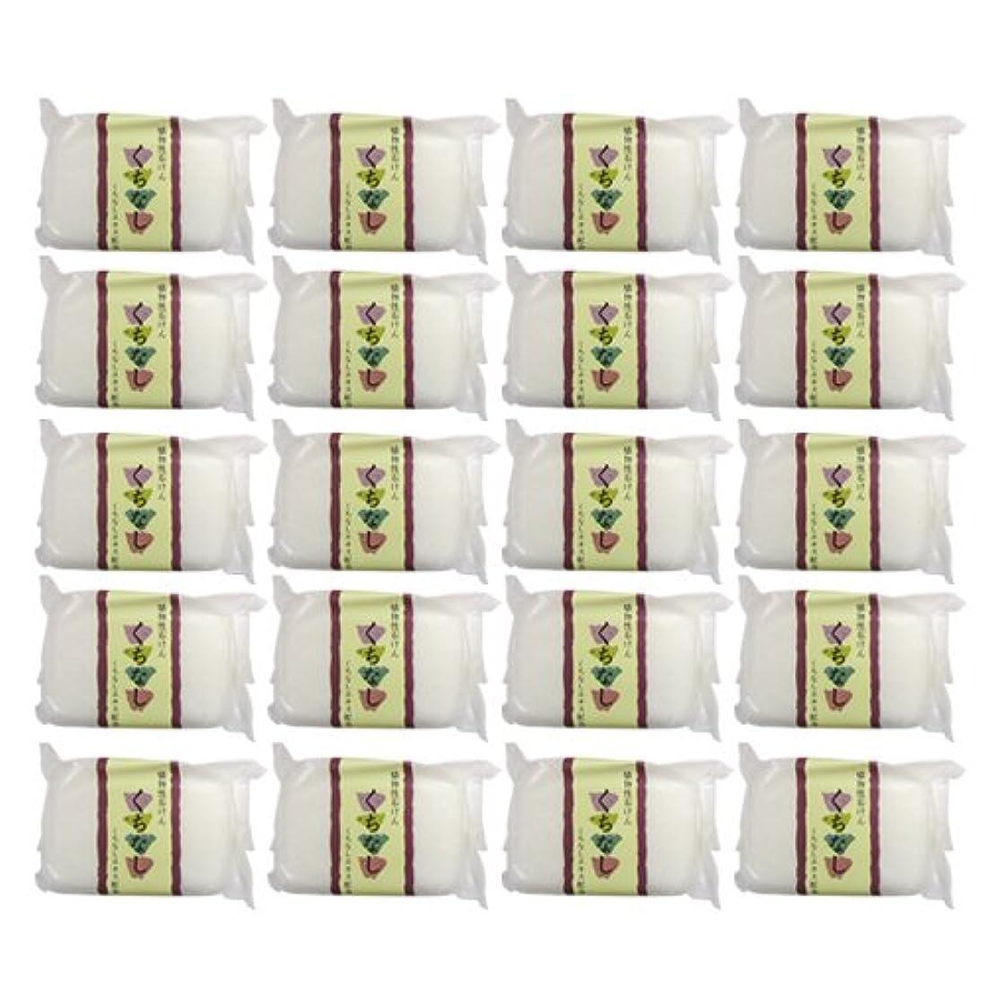 予算スプーン樹木植物性ソープ 自然石けん くちなし 80g×20個セット