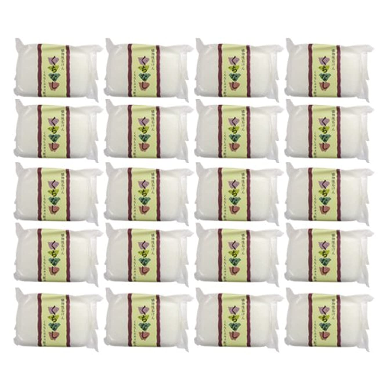 掻く資源ペッカディロ植物性ソープ 自然石けん くちなし 80g×20個セット