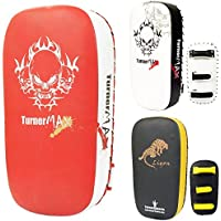 TurnerMAXタイパッドStrike Shield Kick Boxingレッドホワイト(ペア)
