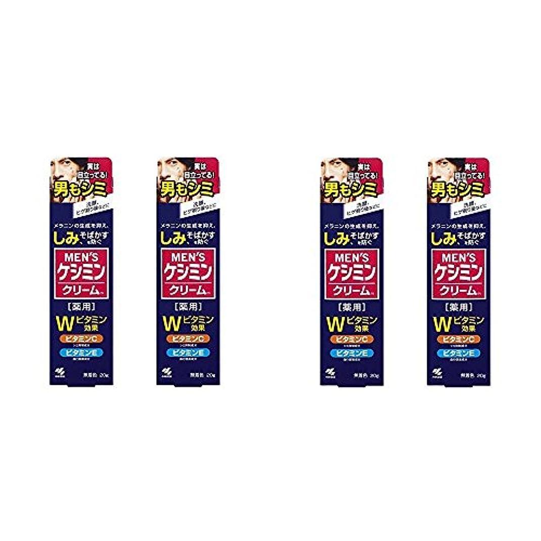 肌寒い気性にはまって【セット品】メンズケシミンクリーム 男のシミ対策 20g (4個)