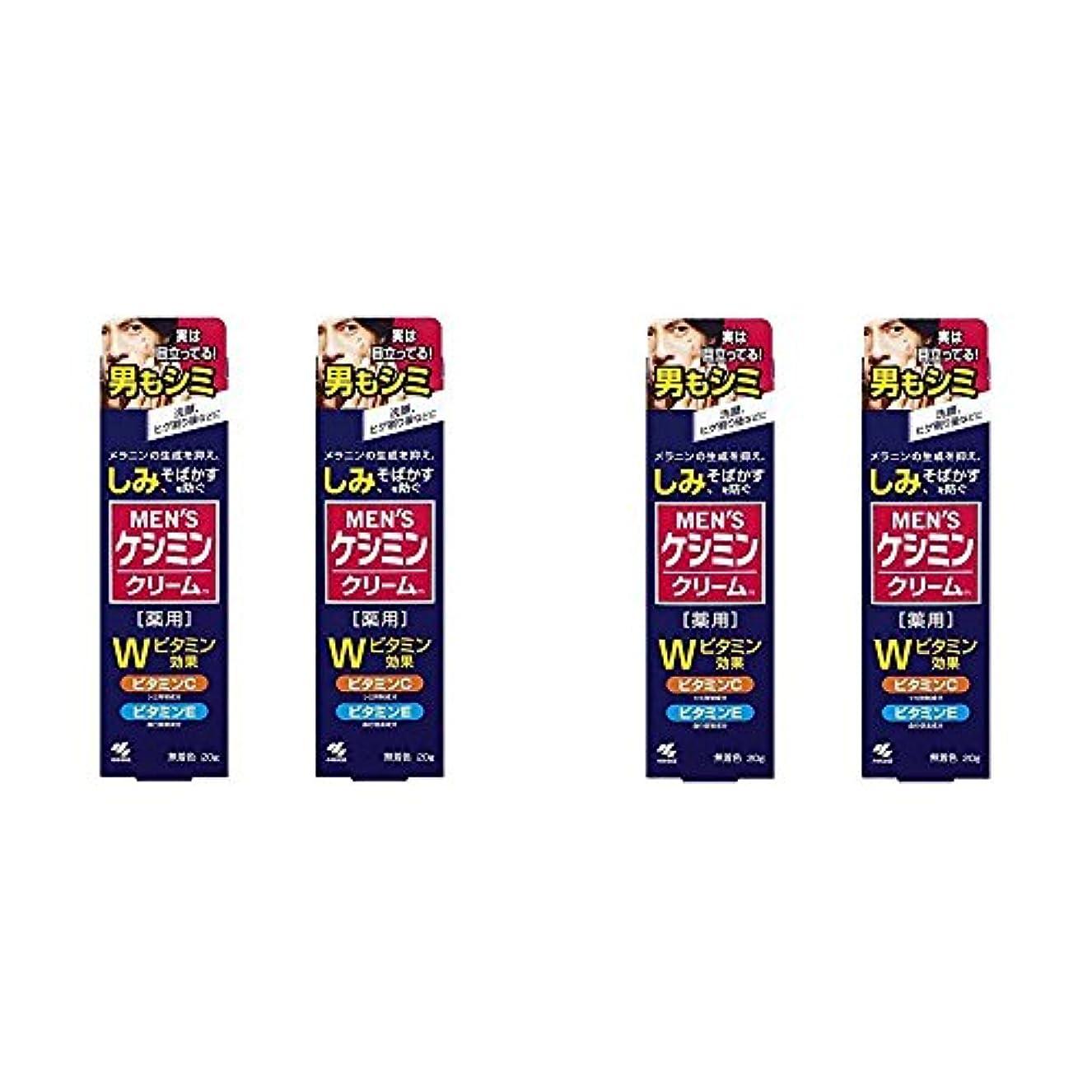 パラナ川いつでも降臨【セット品】メンズケシミンクリーム 男のシミ対策 20g (4個)