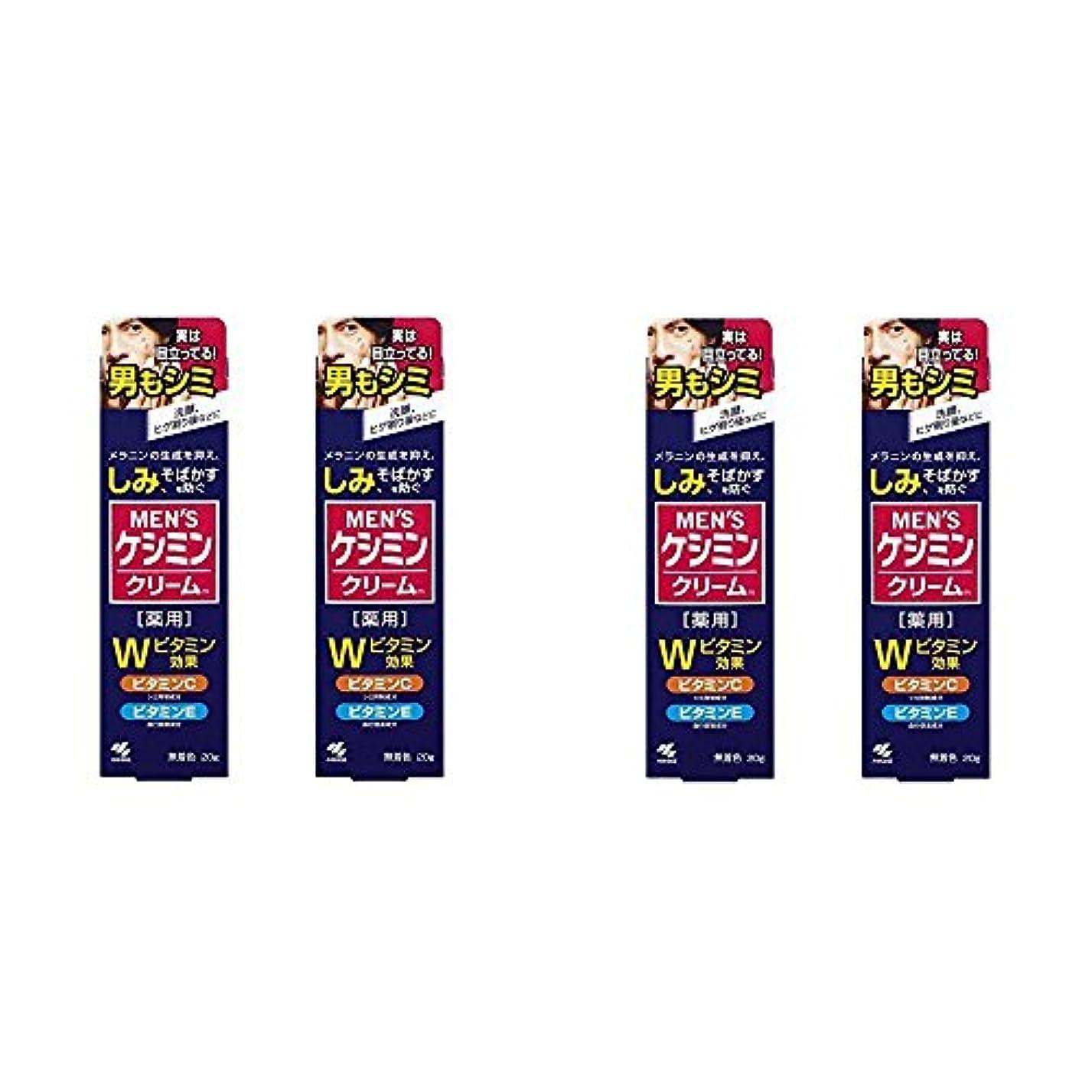 ストッキング日帰り旅行にまたはどちらか【セット品】メンズケシミンクリーム 男のシミ対策 20g (4個)