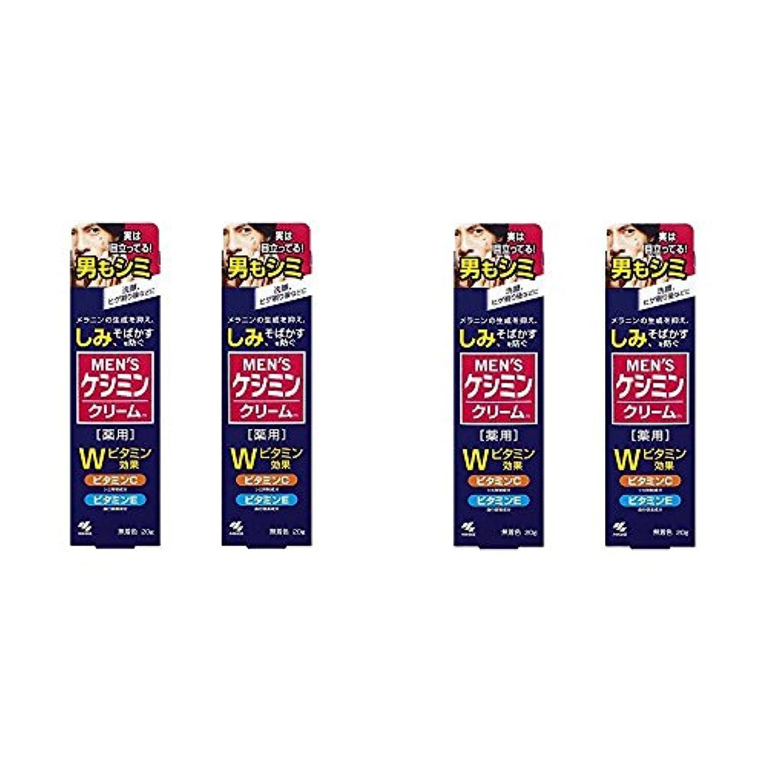形成セメント好み【セット品】メンズケシミンクリーム 男のシミ対策 20g (4個)