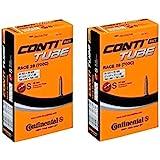 2本セット コンチネンタル(Continental) チューブ Race28 700×20-25c 仏式 42mm [並行輸入品]