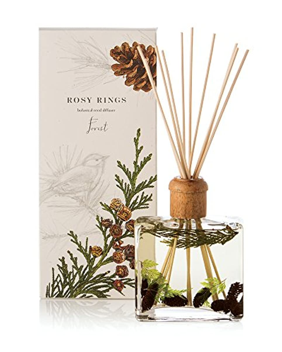 誘惑主張インストラクターロージーリングス ボタニカルリードディフューザー フォレスト ROSY RINGS Signature Collection Botanical Reed Diffuser – Forest