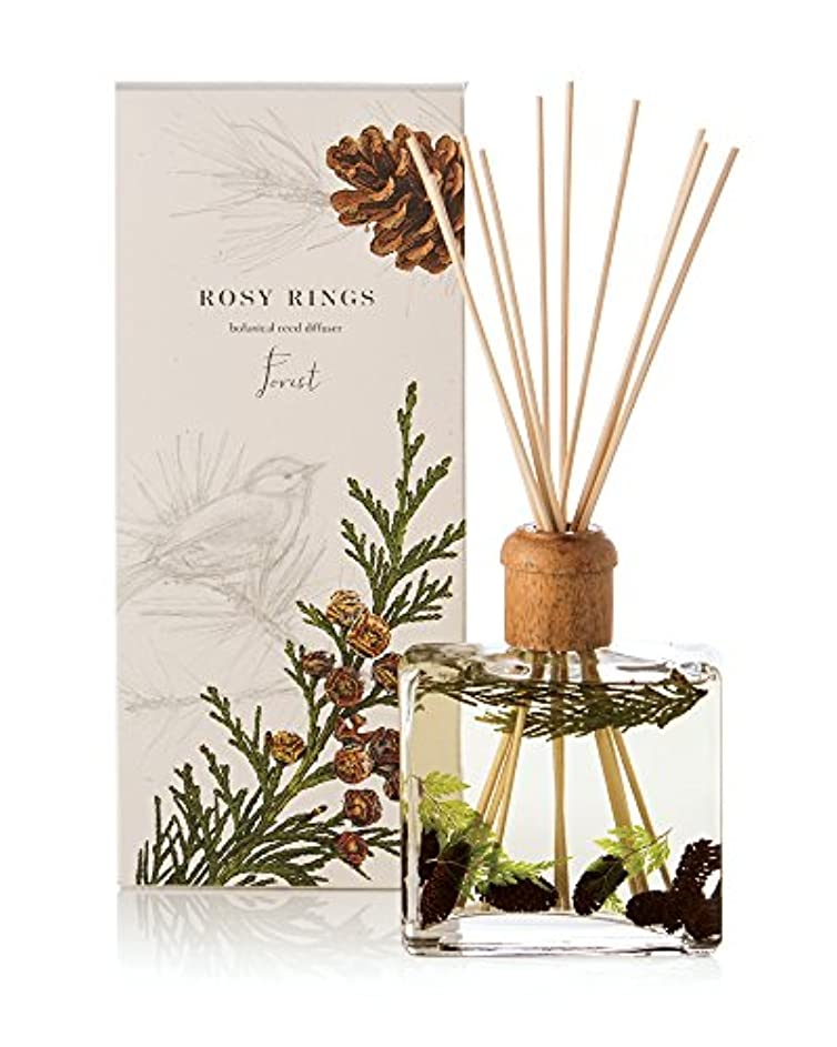 失礼はず誰ロージーリングス ボタニカルリードディフューザー フォレスト ROSY RINGS Signature Collection Botanical Reed Diffuser – Forest