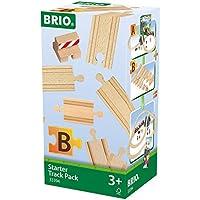 BRIO WORLD 追加レールセット(スターター13pcs) 33394