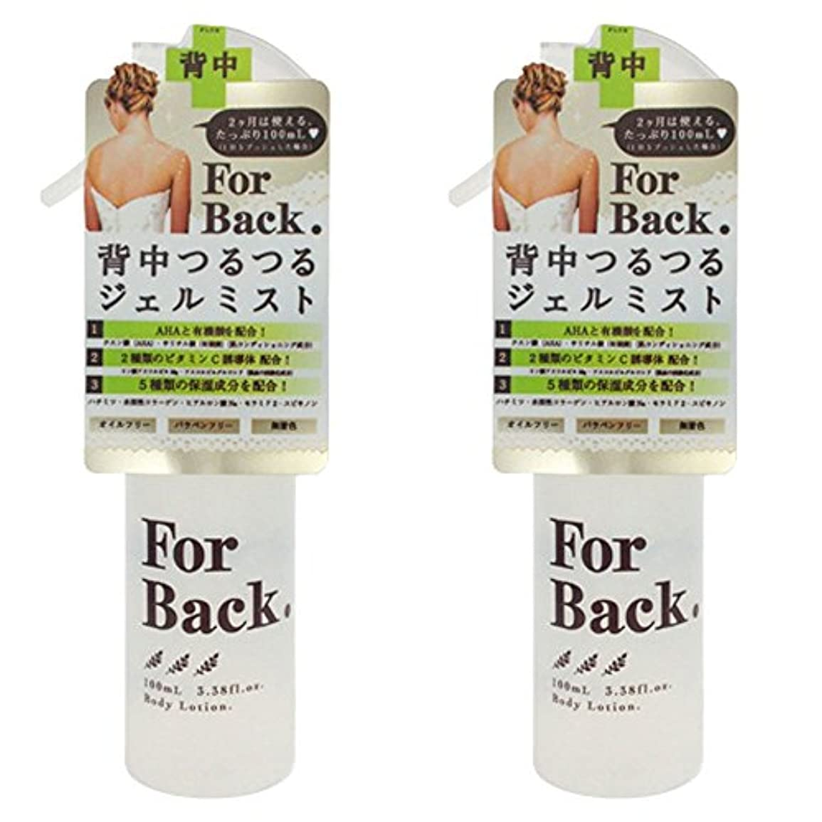 花嫁正直取り扱い【セット品】ForBack ジェルミスト 100ml ×2個