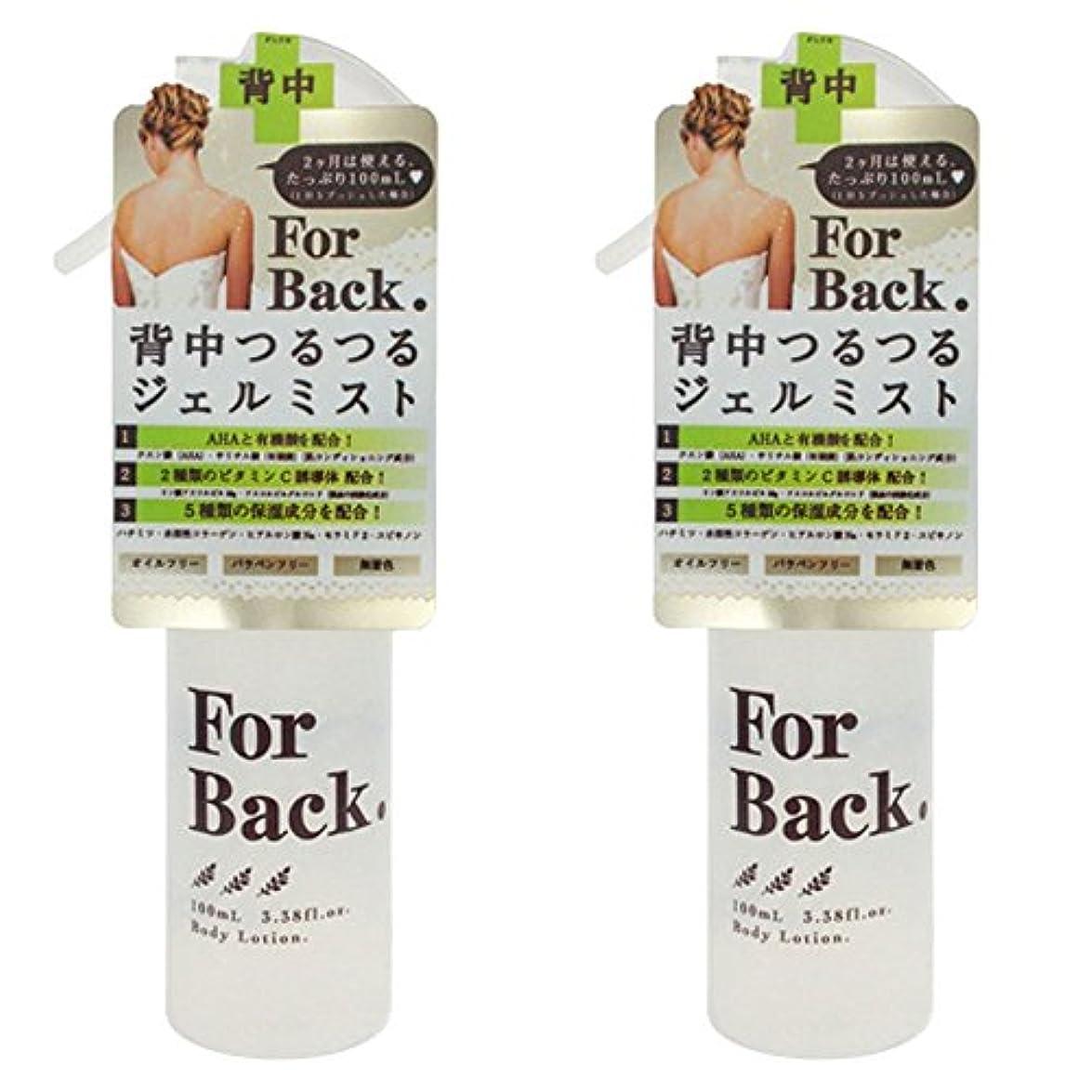 フィルタ感度ショッキング【セット品】ForBack ジェルミスト 100ml ×2個