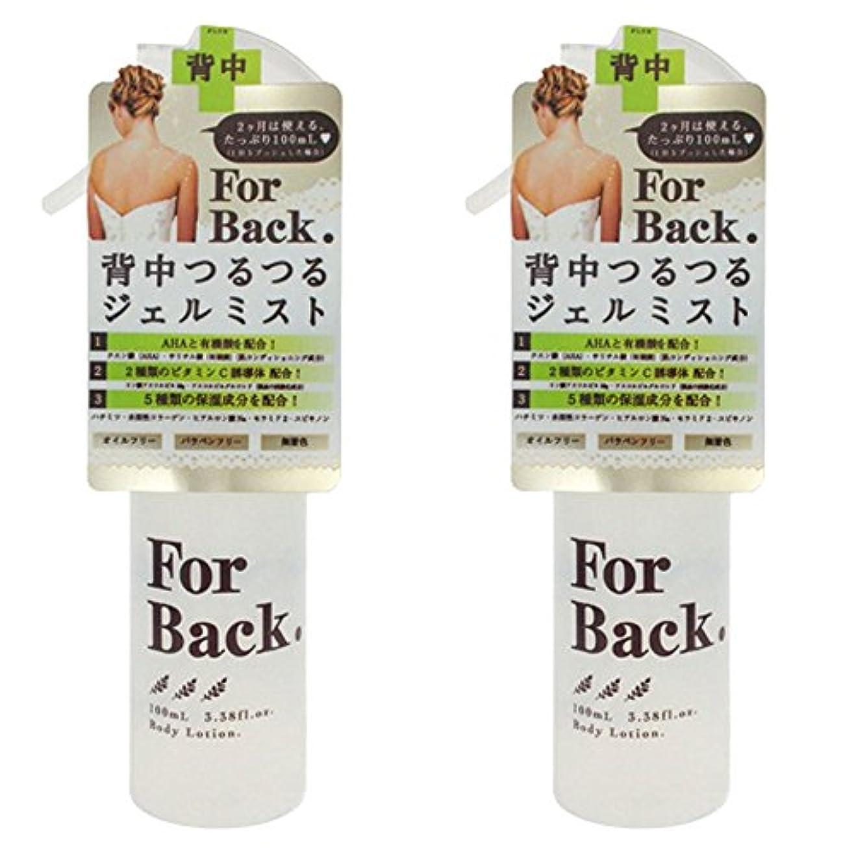 ティームバードア【セット品】ForBack ジェルミスト 100ml ×2個
