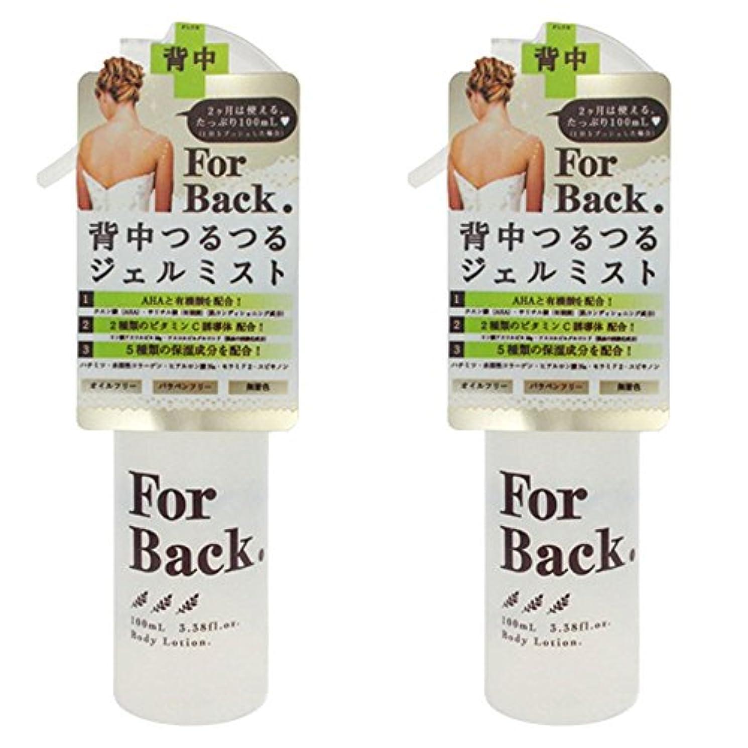 葬儀予算四分円【セット品】ForBack ジェルミスト 100ml ×2個