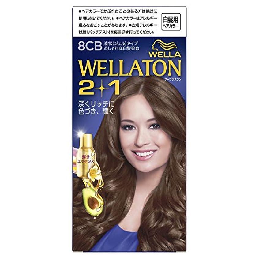樫の木すずめ従事したウエラトーン2+1 液状タイプ 8CB [医薬部外品](おしゃれな白髪染め)