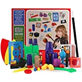 ゴシレ Gosear デラックスマジックトリック小道具おもちゃキットセット子供のための子供初心者様々なフェスティバル公演用品