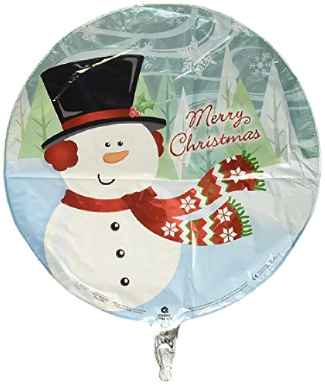 STD Merryクリスマス雪だるまバルーン5 pk