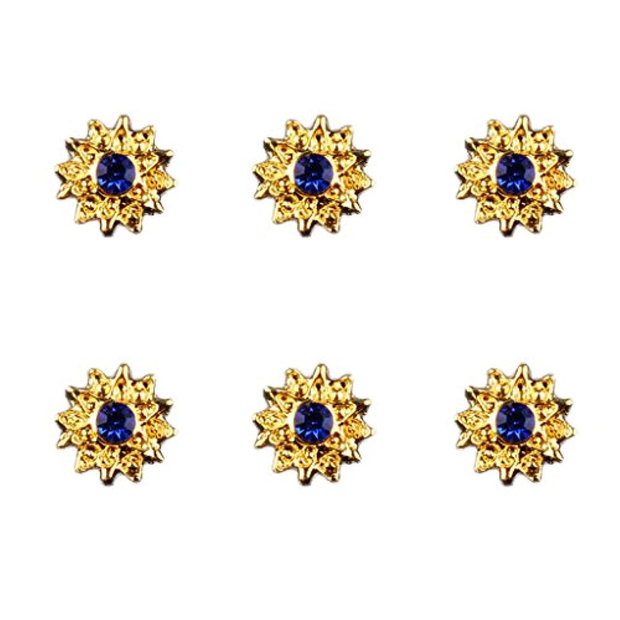 ボス何で出来ている約50個入り マニキュア ダイヤモンド 3Dネイルアート ヒントステッカー 装飾 全8種類 - 6