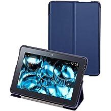 BUFFALO  (Kindle Fire HDX専用カバー) フラップケース   ネイビー