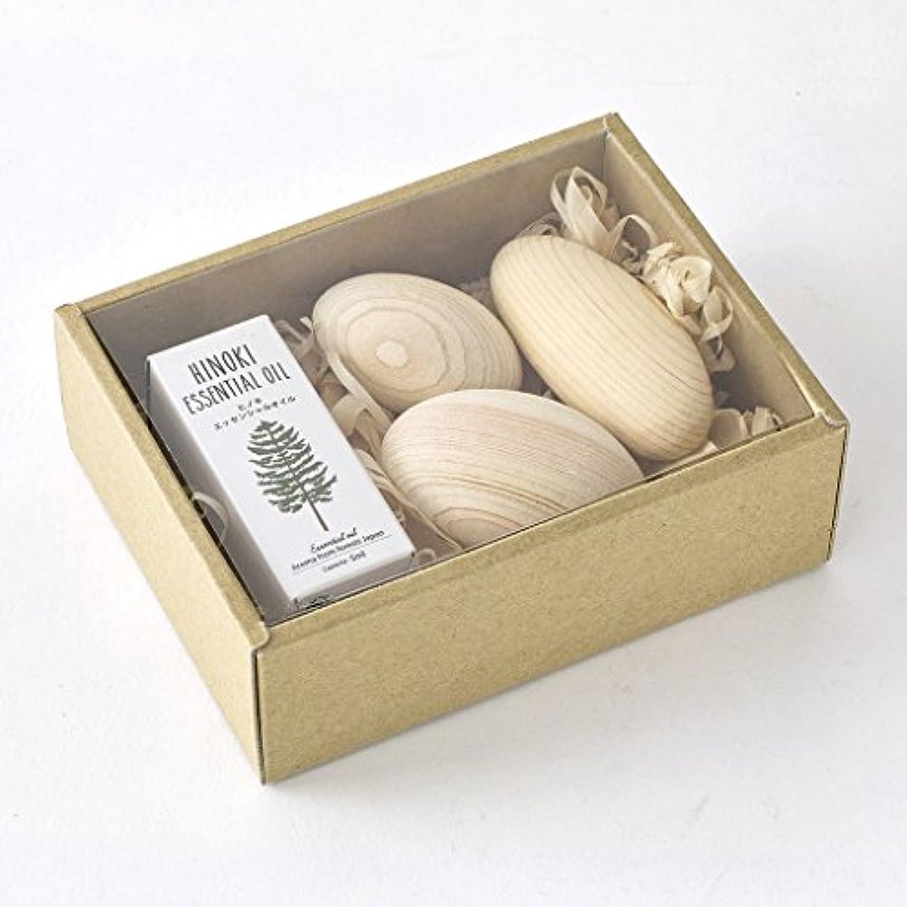 パットステップはさみSPICE OF LIFE アロマオイル&ウッドボールセット ヒノキ 木曽ヒノキ 天然精油 香り 癒し リラックス 日本製 YKLG8010SET