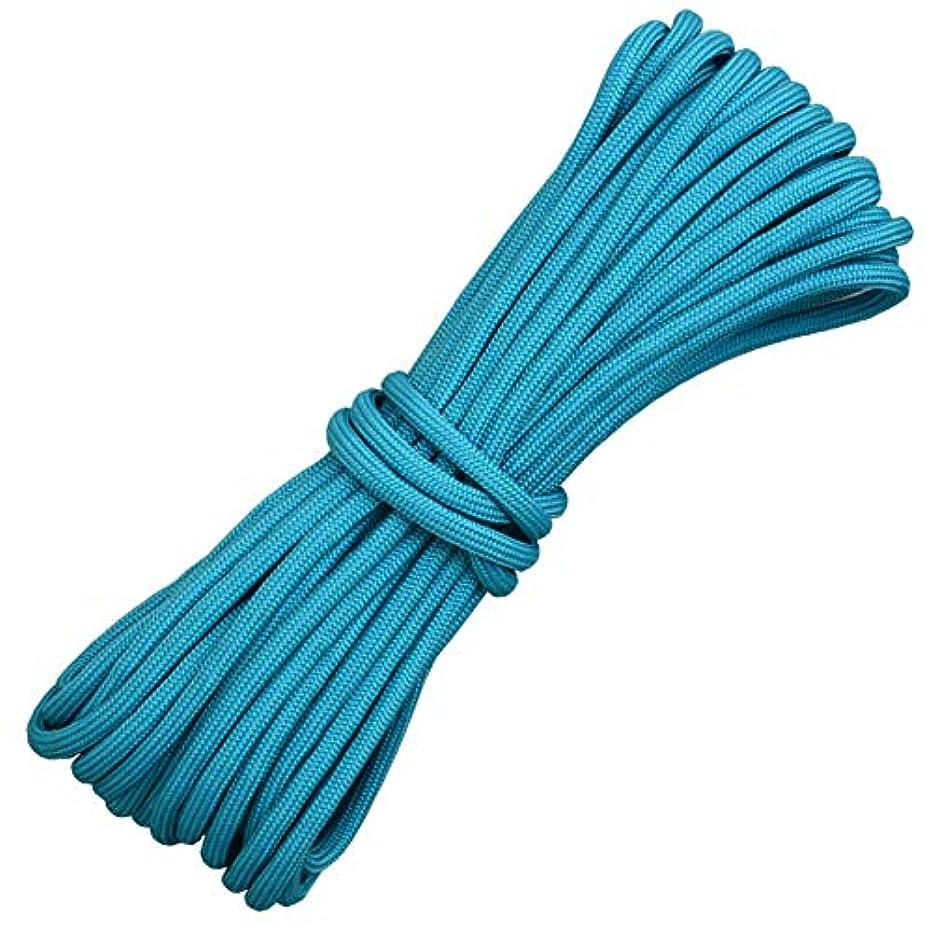僕の実行追加4ミリメートル安全登山ツリーロックロープ火災エスケープアクセサリーサバイバルコード乾燥服、固定テント実用ロープ,C