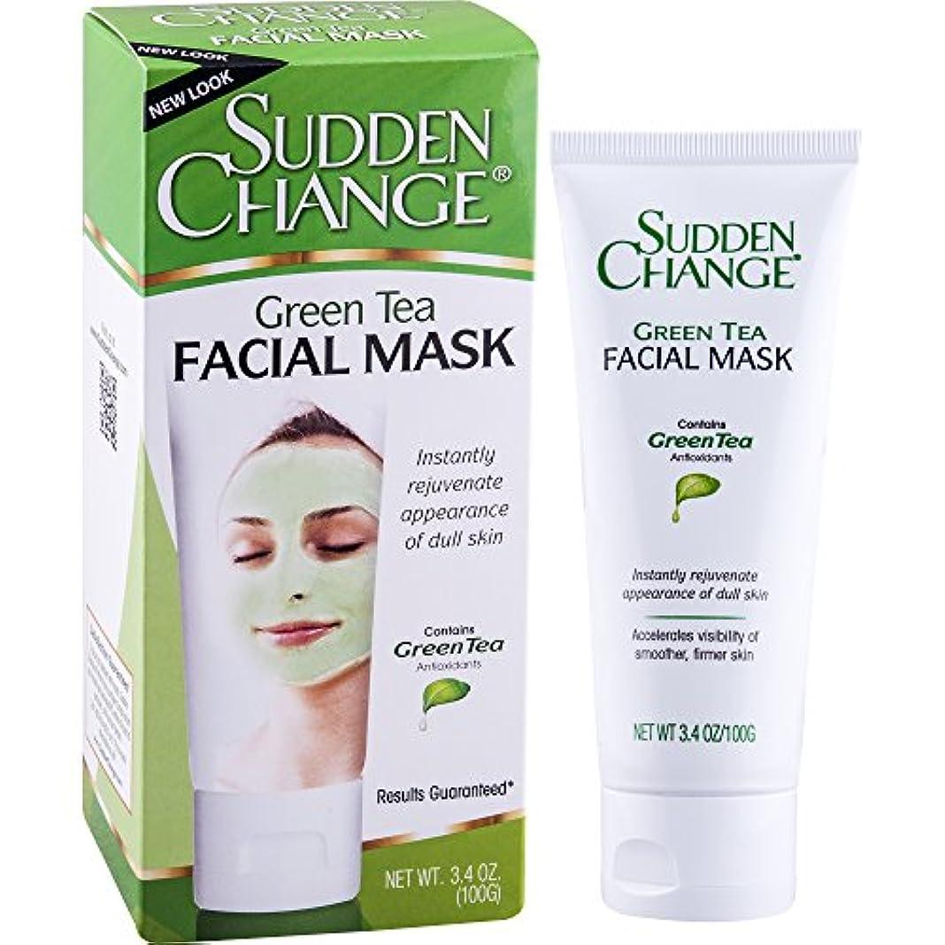 太い教会ポテトSudden Change, Green Tea Facial Mask, 3.4 oz (100 g) (並行輸入品)