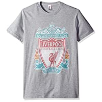 Fifth Sun Official Liverpool Fc Full Color Logo Men's Tee