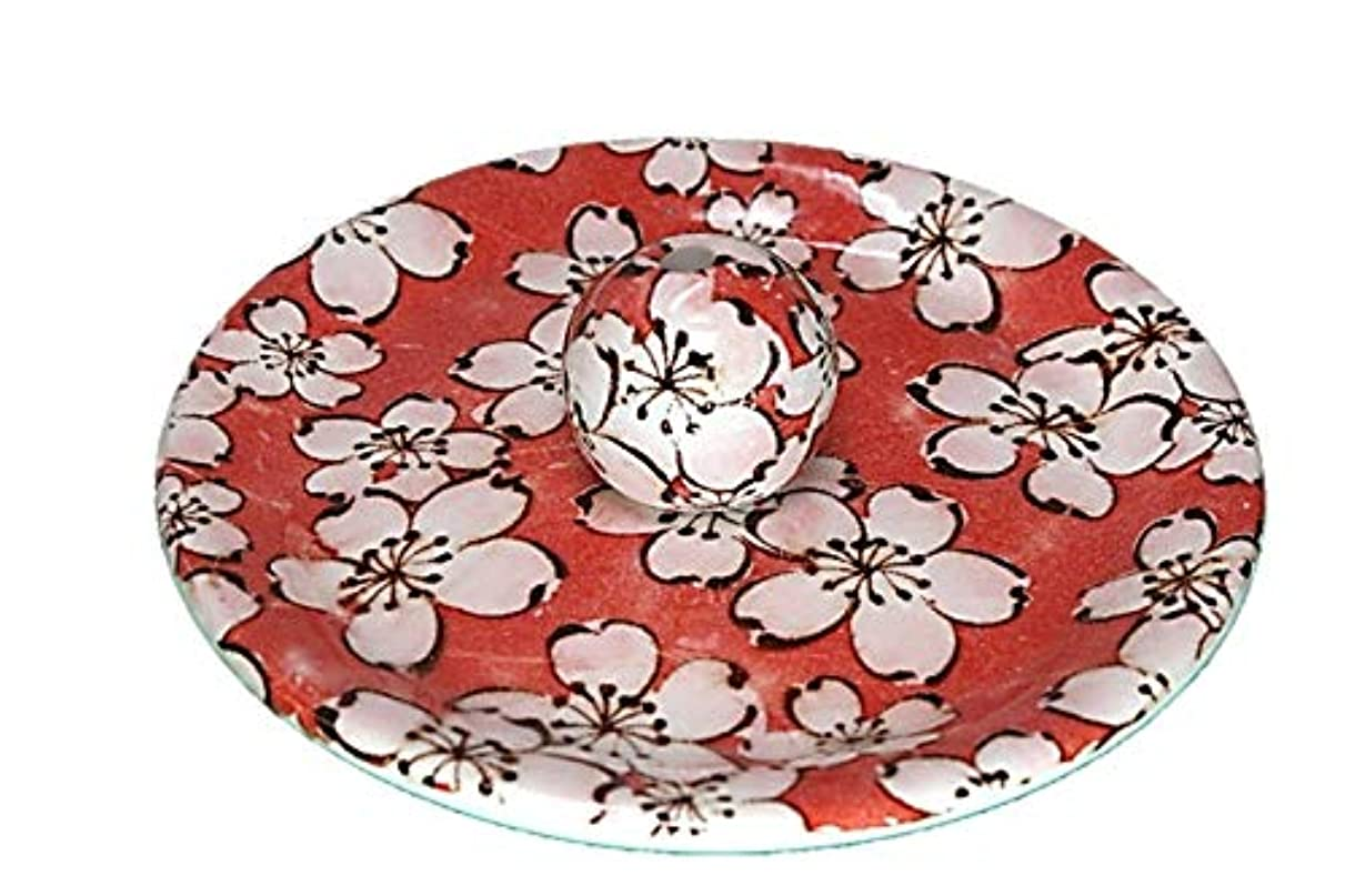 証書支給慣性9-56 都踊 9cm香皿 お香立て お香たて 陶器 日本製 製造?直売品