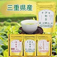 JAみえきた 三重県産茶葉3種詰合せ (伊勢茶かぶせ茶リーフ・伊勢茶上ほうじ茶ティーバッグ・シナモン紅茶ティーバッグ)