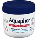 Aquaphor Advanced Therapy Healing Ointment Skin Protectant 14 Ounce Jar
